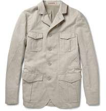 Gant Rugger Striped Fine Knit Cotton Polo Shirt  MR PORTER
