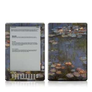 Kindle DX Skin (High Gloss Finish)   Monet   Water lilies