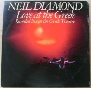 Vinyl Record Album Double LP 33 LOVE AT THE GREEK THEATER LIVE