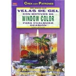 Velas de gel con motivos de window color para cualquier