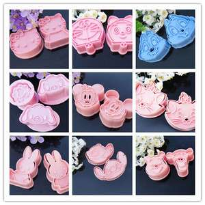 Stich Fondant Cookie Mold Cutter Tools Sugarcraft Decorating