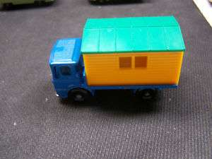 Vintage Lesney Matchbox No. 60 Truck with Site Office