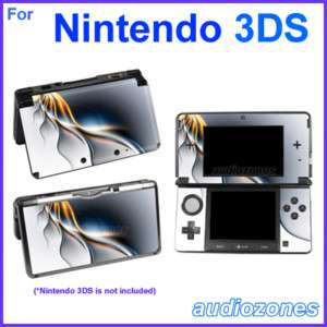 Skin Sticker Art Decal Cool Modern Design for Nintendo 3DS
