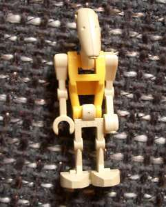 Lego Star Wars Battle Droid Commander Druide gelb Kampfdruide