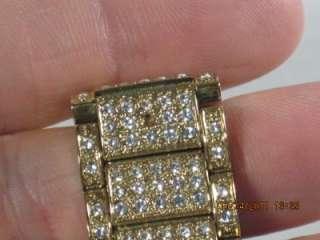 Michael Kors MK 5061 Womens Goldtone Stainless Steel Swarovski