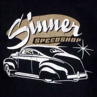 Shirt Sinner Speedshop, Hot Rod, Rat Rod, Gr. S 2XL