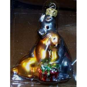 Disney Dogs Blown Glass Retired Ornament (Lady & the Tramp) NEW