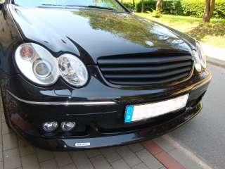 Mercedes Grill Kühlergrill CLK W209 SCHWARZ Brabus AMG