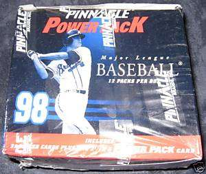 1998 PINNACLE POWER PACK Baseball Factory Sealed Box