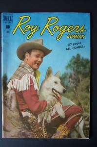 Roy Rogers Comics #25 1950 High Grade