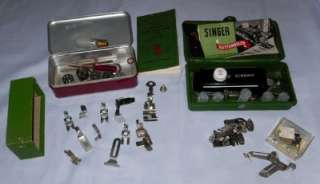 RARE 15 90 SINGER CENTENNIAL 1851  1951 Sewing Machine +Cabinet