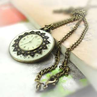 Watch/Clock Sweater Necklace Retro Style Beautiful Necklace