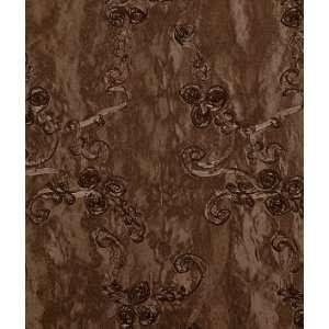 Brown Ribbon Taffeta Fabric: Arts, Crafts & Sewing