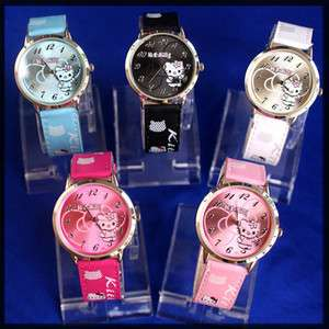 10 pcs hello kitty girl watches hw02 free