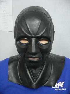 SNAKE EYES G I Joe Latex MASK Costume Halloween THICK
