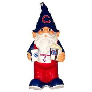 Chicago Cubs MLB Fan Popcorn Garden Gnome Sports