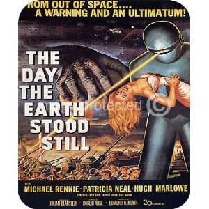 The Day The Earth Stood Still Vintage Movie MOUSE PAD
