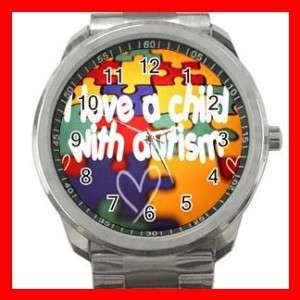 AUTISM Awareness Hope Health Sports Metal Watch #101