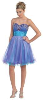 Pretty Short Sweet 16 Homecoming Dress Graduation Formal Party Gown
