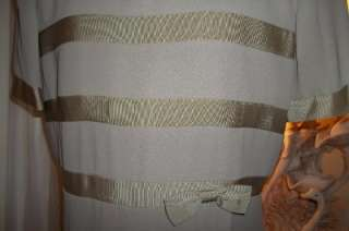 CASUAL CORNER WOMENS SEMI/FORMAL LONG DRESS 10/12 L NEW