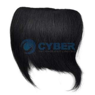 Fashion Clip Bang Fringe Cute Human Hair Extensions For Ladies