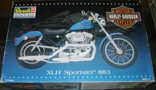 Revell 18 Harley Davidson XLH Sportster 883 #7311