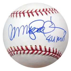 RYNE SANDBERG AUTOGRAPHED SIGNED MLB BASEBALL 84 MVP PSA/DNA