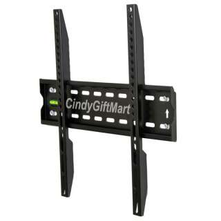 Ultra Slim Low Profile Plasma LCD LED TV Wall Mount Bracket 3VA