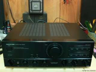 ONKYO A 8700 STEREO INTEGRATED AMPLIFIER, MM/MC SUPPORT