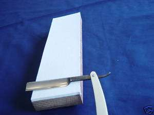 Straight Razor Strop, Felt, Lap Top Model, Easy to Use