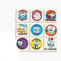 36 Dental Patient Dentist Tooth Care Tattoos Favors
