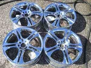 Aftermarket 18 RTech 10 Spoke Chrome Wheel Set 4 Lug