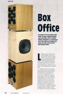 New Pair of Hart Audio EVO1 Tri Monitor LoudSpeakers Speakers with