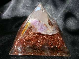 Orgone Energy Pyramid Negative EMF Protection Device