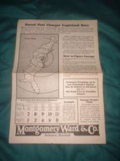 GREAT 1926 RIVERSIDE TIRES MONTGOMERY WARD TIRE CATALOG