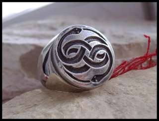 NEVERENDING STORY AURYN RING REPLICA SURGICAL STEEL D20