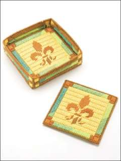 Plastic Canvas Table Toppers Coasters Set Patterns Book