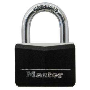 Master Lock 1 9/16 Wide Covered Solid Body Padlock w/ 7/8 Shackle