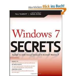 Windows 7 Secrets Secrets Series, Book 136 und über 1 Million