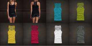 New Summer 2012 Hollister by Abercrombie Womens Tank Top XS S M L