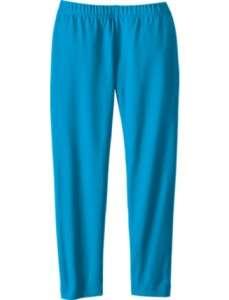 Andersson 2pk Livable Leggings Cotton AQUA BLUE & GRAY Sz 3T $40