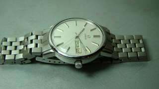 VINTAGE OMEGA AUTOMATIC DAY DATE SWISS MENS 1020 WRIST WATCH OLD USED
