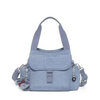 KIPLING FAIRFAX DENIM BLUE SHOULDER GRAB HANDBAG BAG, NEW IN  HURRY