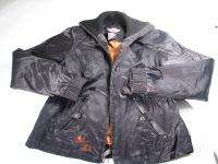 Harley Davidson Black Nylon Motorcycle Jacket Womens No size