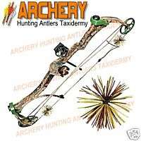 CAMO Whisker Bow String Silencers 4 Pc Pack Archery