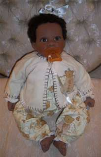 Lee Middleton Doll~ANGEL BEAR~African/American