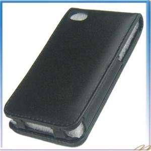 Leather Vertical Case for iPod Touch 4TH Black #9045
