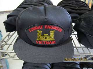 US Army Combat Engineer Vietnam Veteran Hat NEW