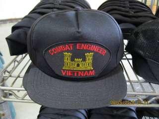 US Army Combat Engineer Vietnam Veteran Hat NEW