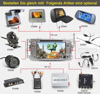 Autoradio Car DVD Player GPS iPod CAN BUS SWC FORD FOCUS MONDEO